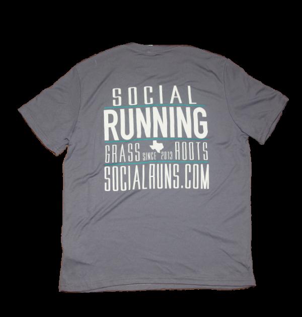 Social Running TX Tech Shirt
