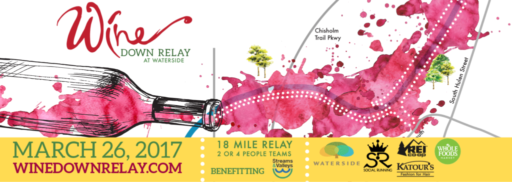 Wine Down Relay Ticket Header