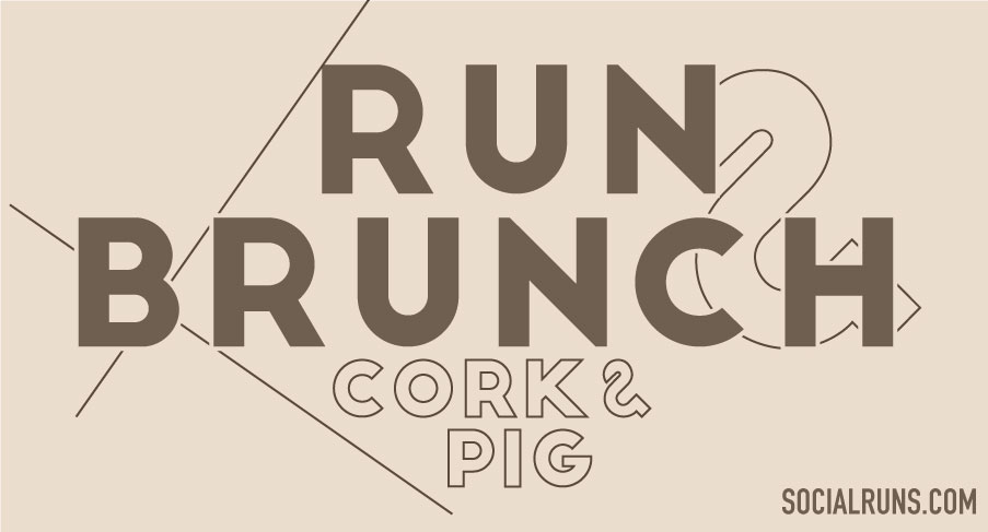 Run and Brunch at Cork and Pig Fort Worth